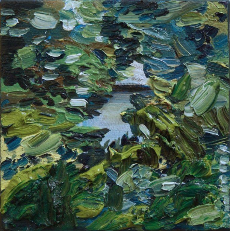 Landscape Collaboration with my Mum, Miranda Mayne